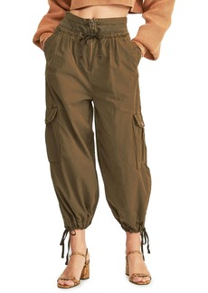 Free People Fly Away Parachute Cargo Pants
