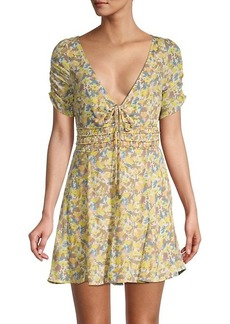 Free People Forget-Me-Not Floral Dress