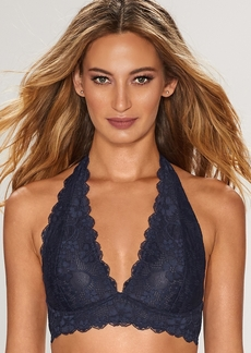 Free People + Galloon Lace Halter Bralette