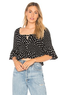 Free People A Bit Of Something Sweet Top