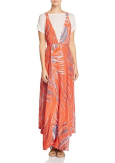 Free People A Thousand Kisses Layered-Look Maxi Dress