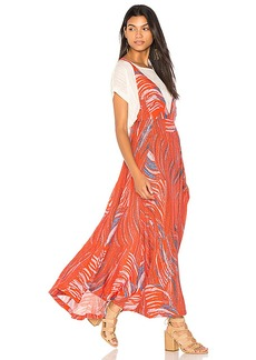 Free People A Thousand Kisses Maxi in Red. - size L (also in M,S,XS)