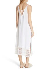 Free People Abbie Crinkle Maxi Dress