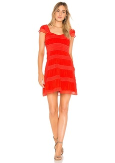 Free People Alicia Lace Mini Dress