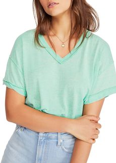 Free People All Mine Back-Cutout Tee