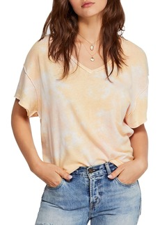 Free People All Mine Cutout Tie-Dye Tee