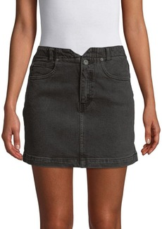 Free People All That Denim Mini Skirt