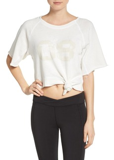 Free People Aloha Crop Sweatshirt