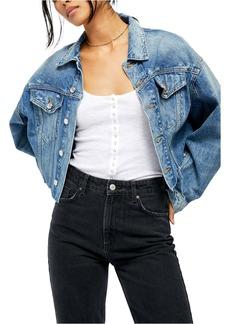 Free People Amelia Slouchy Trucker Jacket