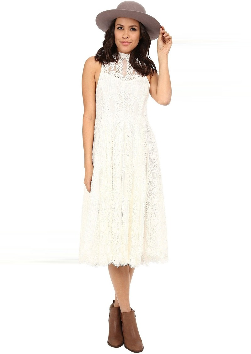 Free People Angel Rays Trapeze Midi Dress