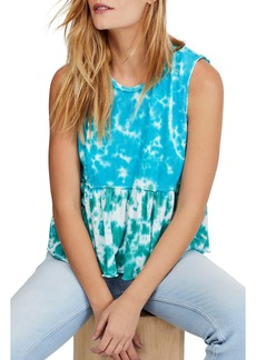 Free People Anytime Tie Dye Tank