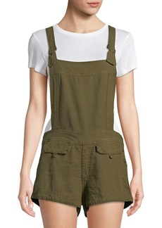 Free People Army Expedition Linen Romper