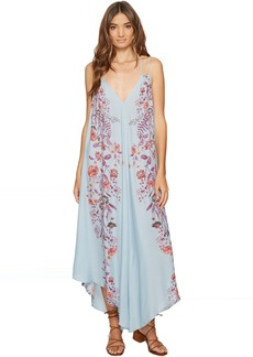 Free People Ashbury Printed Slip Dress