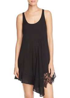 Free People Asymmetric Racerback Slip Dress
