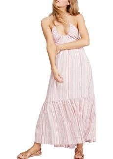 Free People Audrey Stripe Halter Dress