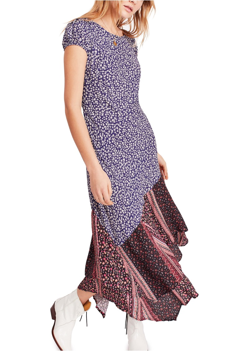 Free People Aurelia Floral Print Dress