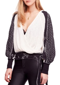 Free People Auxton Thermal Wrap Top