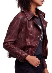 We the Free by Free People Avis Leather Jacket