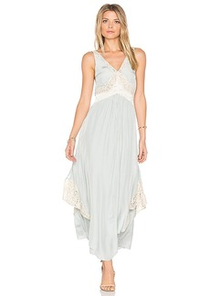Free People Baby Love Maxi Dress in Blue. - size 0 (also in 2,4)