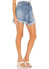 Free People Bailey Denim Mini Skirt