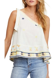 Free People Bali Baby Asymmetrical Tank