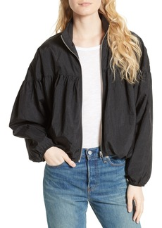 Free People Balloon Bomber Jacket