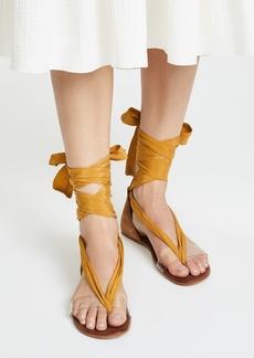 Free People Barcelona Wrap Sandals