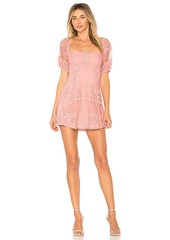 Free People Be Your Baby Lace Mini Dress
