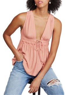 Free People Beach Bound Plunge Tank