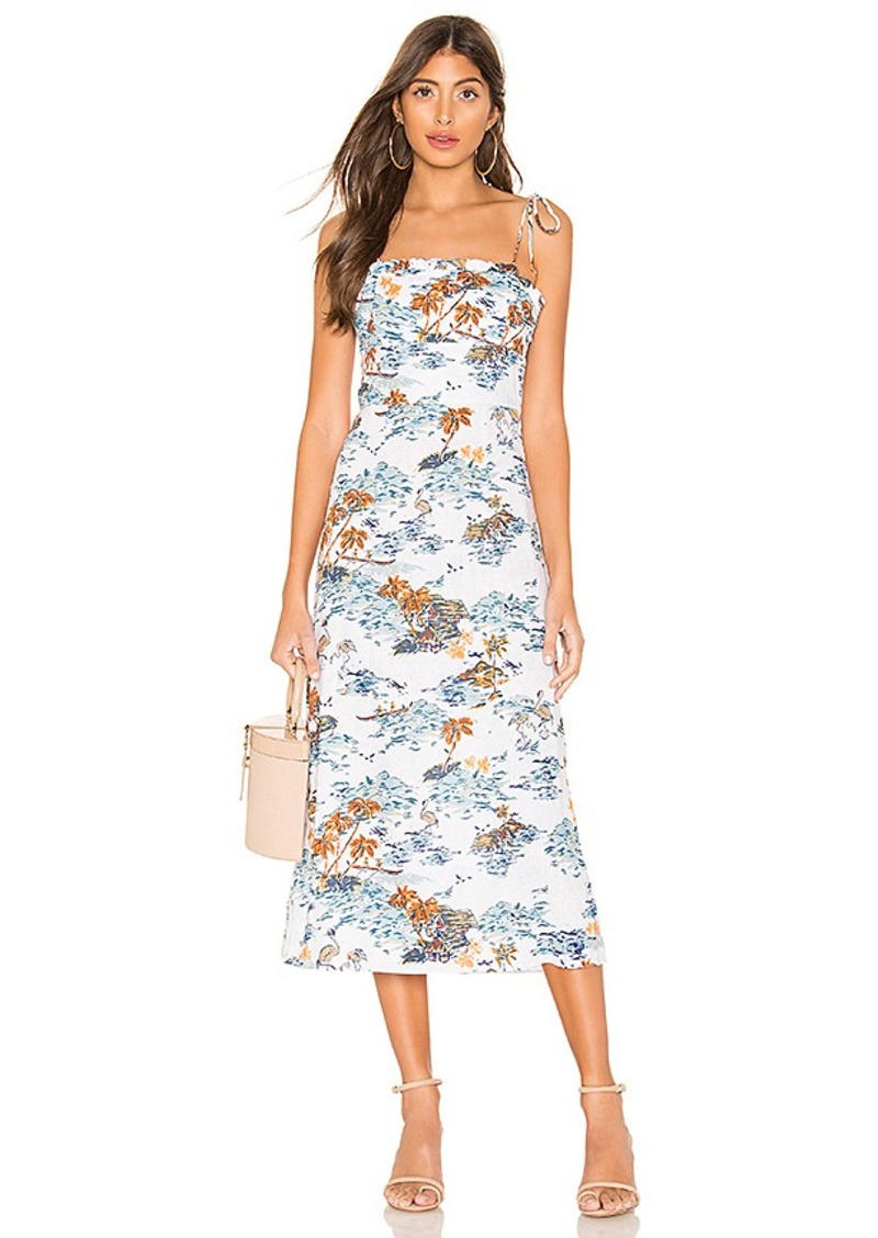 Free People Beach Party Midi Dress