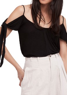 Free People Believe Me Cold Shoulder Top