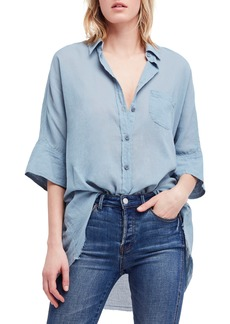Free People Best of Me Button Down Shirt
