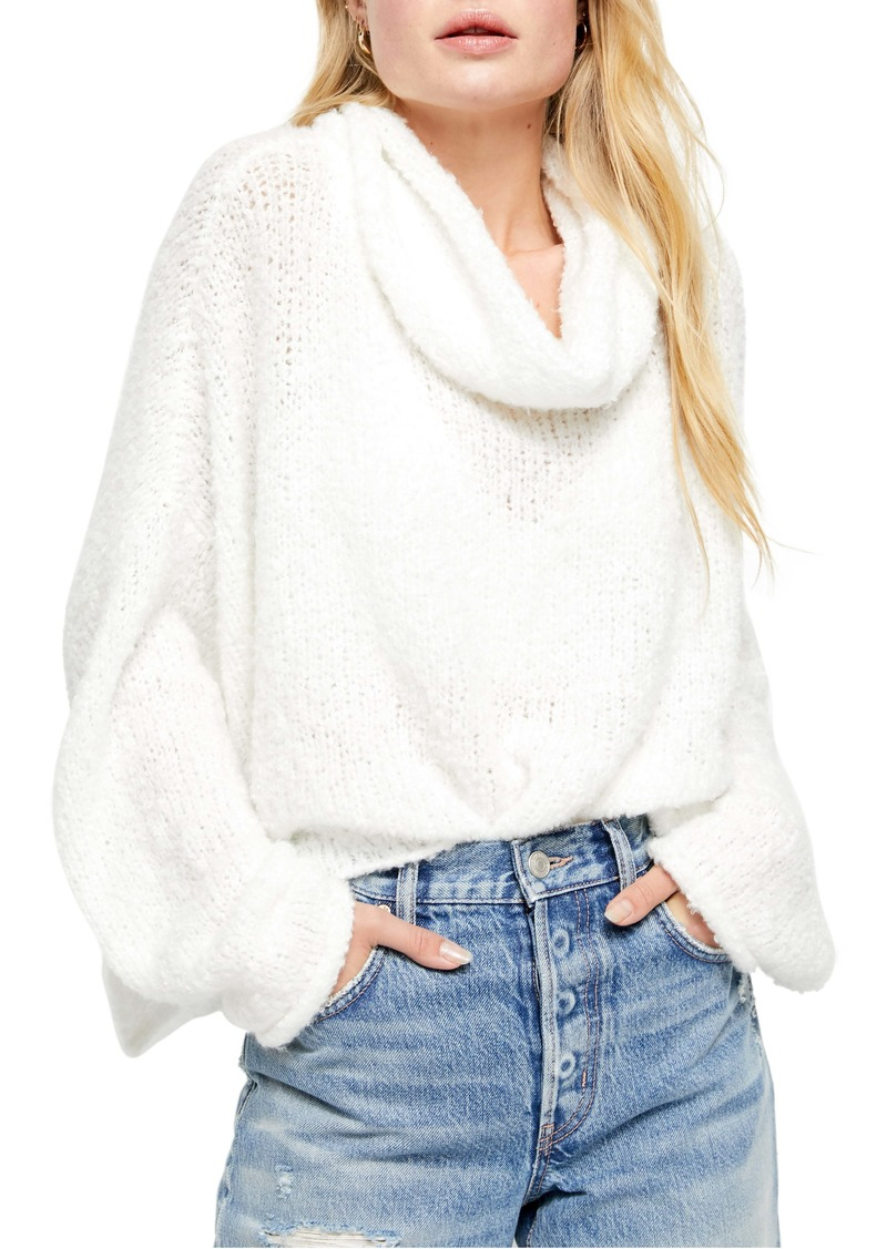 Free People BFF Cowl Neck Sweater