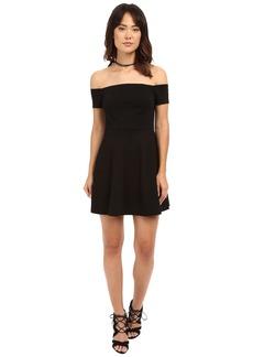 Free People Black Mambo Mini Dress