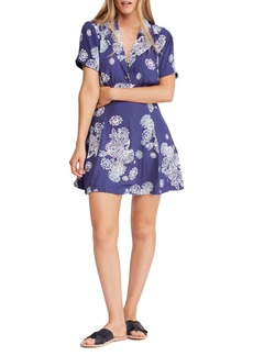 Free People Blue Hawaii Minidress