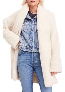 Free People Bo Peep Sweater Jacket