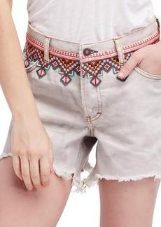 Free People Borderline Cutoff Denim Shorts