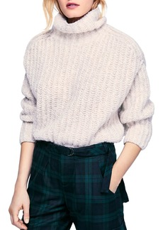 Free People Boxy Turtleneck Sweater