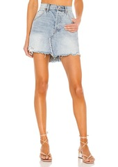 Free People Brea Cutoff Skirt