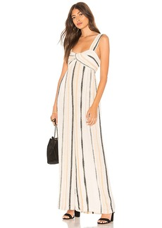 Free People Breezin Through Striped One Piece