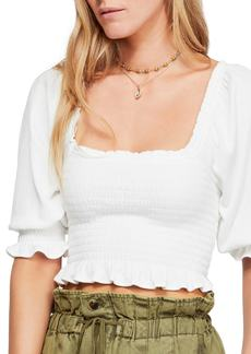 Free People Brenyce Crop Top