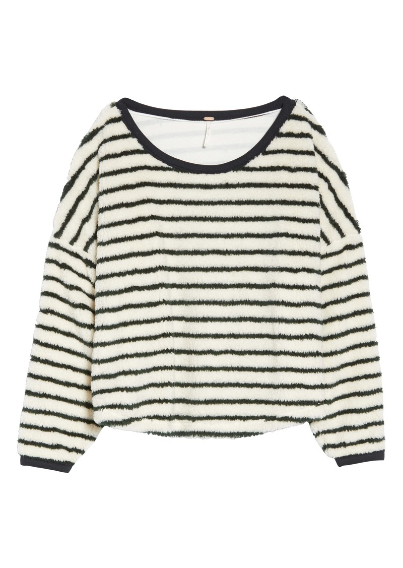 Free People Breton Stripe Pullover