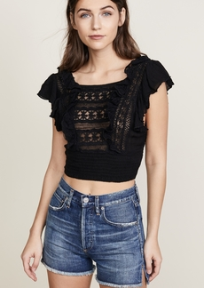 Free People Bridget Crop Top