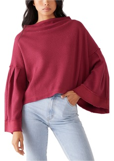 Free People Bunny Bell Sleeve Top