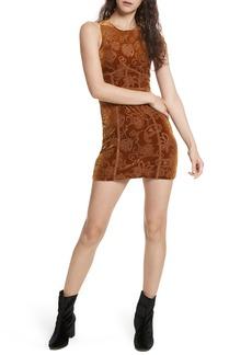 Free People Burnout Babe Body-Con Dress