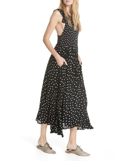 Free People Butterflies Midi Dress