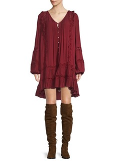 Free People Snow Angel Mini Dress