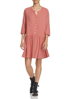Free People Button-Up Dress