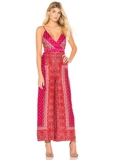 Free People Cabbage Rose Jumpsuit