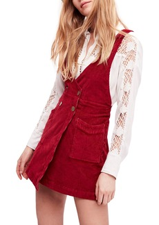 Free People Canyonlands Corduroy Pinafore Dress